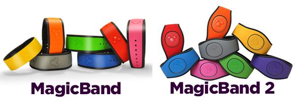 MagicBand vs MagicBand 2