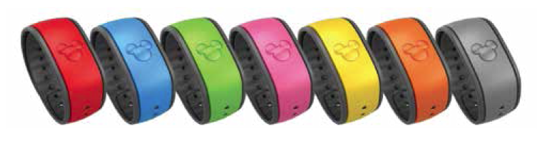 The 7 Main Magic Band Colors
