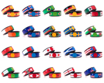 National Flags Magic Bands