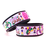 Mardi Gras Magic Band Decals